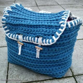 Boxtas blauw